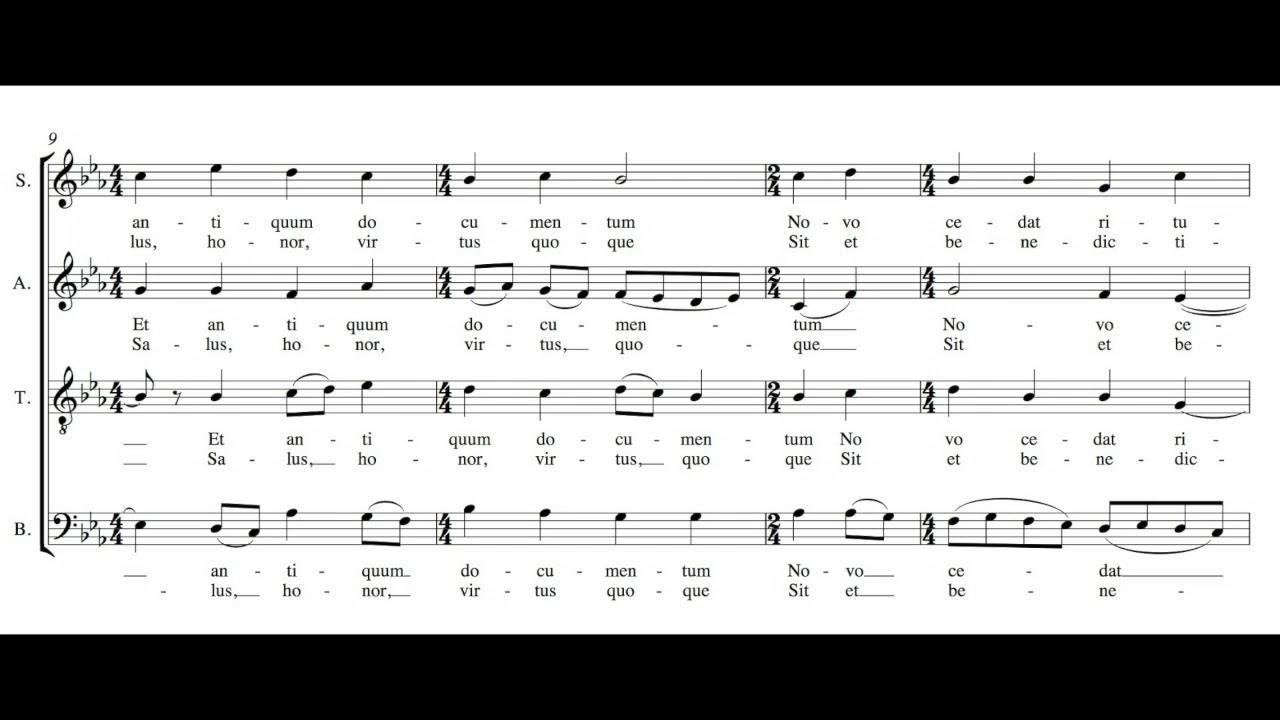 Choral Highlights: November 27, 2017 - November 26, 2018