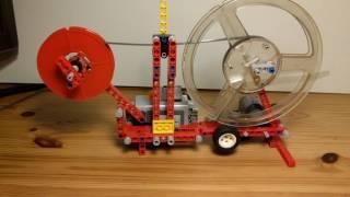20160619 8mm film digitizer, Lego, progress 2