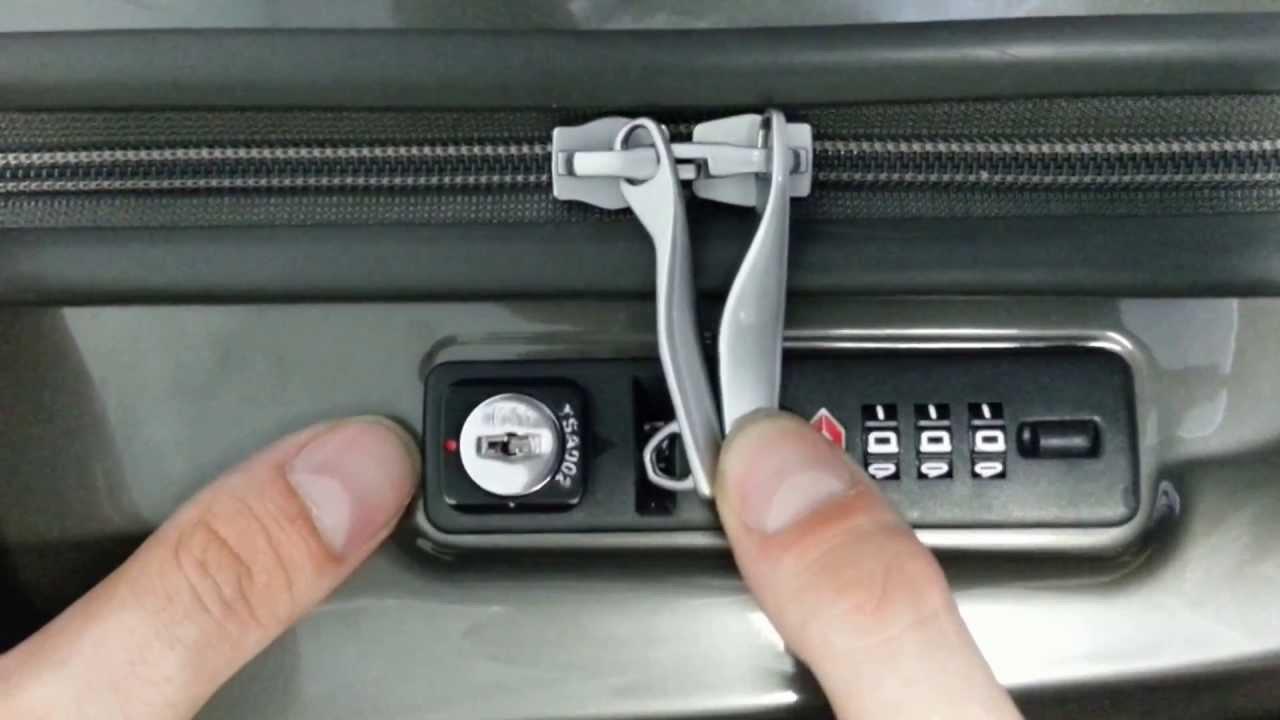 How to unlock Lojel TSA Lock