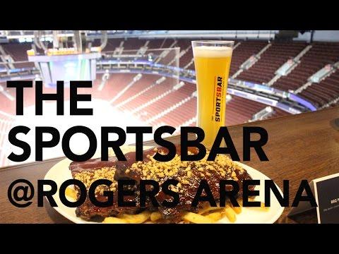 THE SPORTSBAR @ ROGERS ARENA || Gastrofork.ca