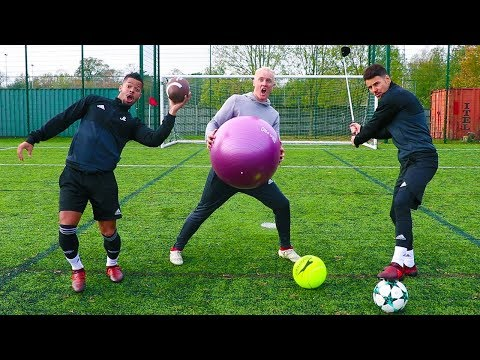 ALL SPORTS PENALTY SHOOTOUT VS F2Freestylers!