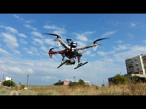 How to Fly 25 min with dji F450 Heavy Lift test flight