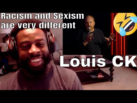 Louis CK | Racism and Sexism are very different | E Dewz Reacts