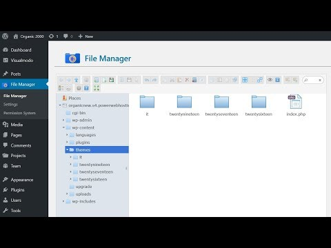 How To Install WordPress Themes Via File Manager FTP Without Host Access thumbnail
