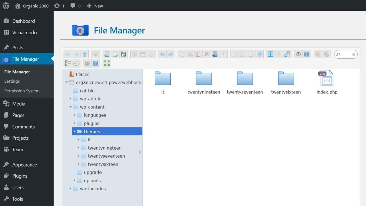 How To Install WordPress Themes Via File Manager FTP Without Host Access