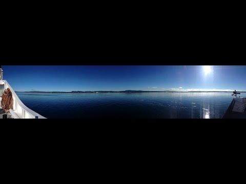 Boattrip from Nesodden to Oslo, Norway - Slow TV