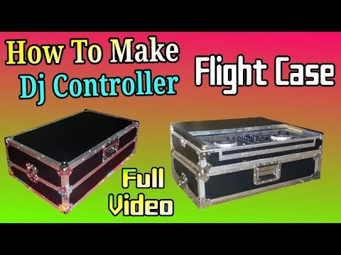 How To Make Dj Controller Flight Case/ How to Build A Dj Flight Case / Dj Case For Laptop