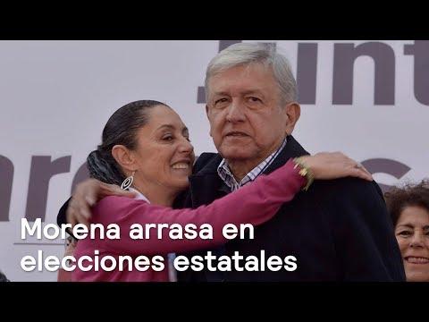 Morena arrasa en elecciones estatales - En Punto con Denise Maerker