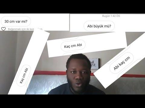 KAÇ CM DİYE CEVAP VERDİM.