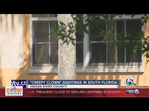 """Creepy Clown"" sightings in South Florida"