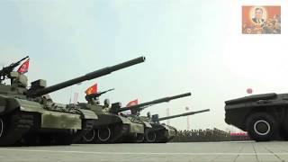 """1 против 100. Северокорейский военный марш.""""One against hundred"""". North Korean war march."""