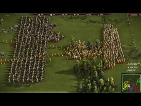 Cossacks 3 - 2v2 [K_A]WARLORD & [K_A]JAN vs OCcoswar & [K_A]colourfit