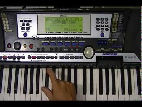 Como Gravar Playback No teclado Psr 540 Yamaha