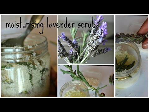 Moisturising Lavender Body Scrub