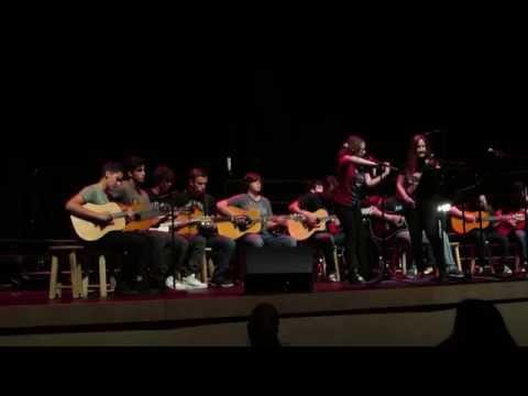 Kashmir - Led Zeppelin by NSU University School Chorus & Guitar Ensemble