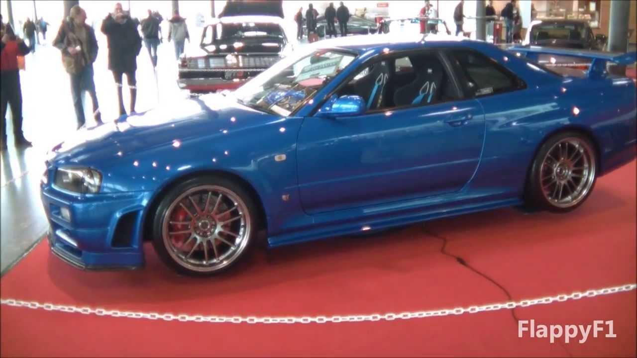 Paul Walkers Nissan Skyline Gt R R34 Fast Furious 4 On Display