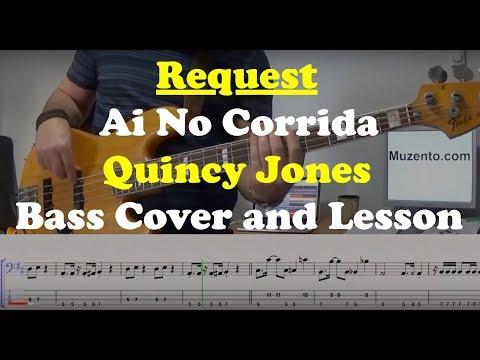 Ai No Corrida - Bass Cover And Lesson - Request