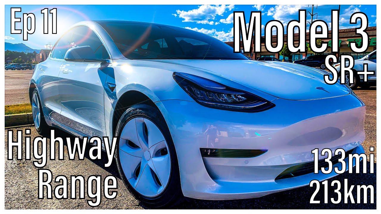 Tesla Model 3 Real World Highway Range | Standard Range ...