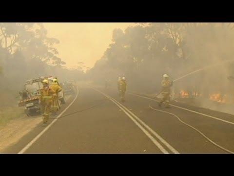 100 Missing In Tasmania Bush Fires