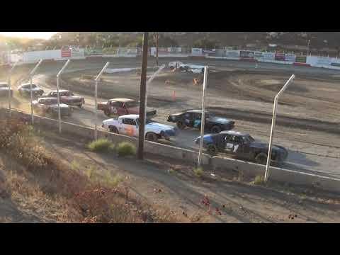 Barona Speedway Pure Stock Heat #2   9-21-2019