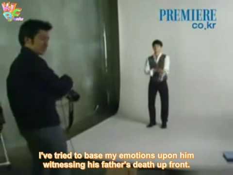 [Eng Subbed] Kim Bum PREMIERE photo shooting & interview