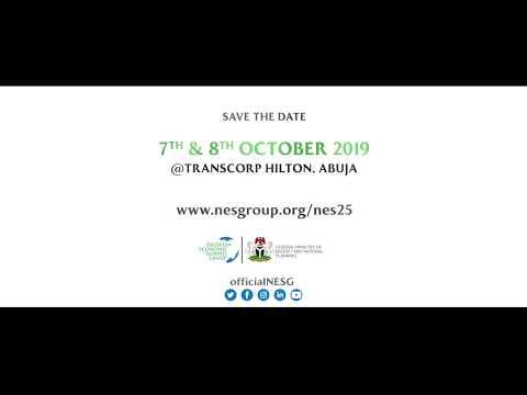 25th Nigerian Economic Summit ...LOADING... Save The Date