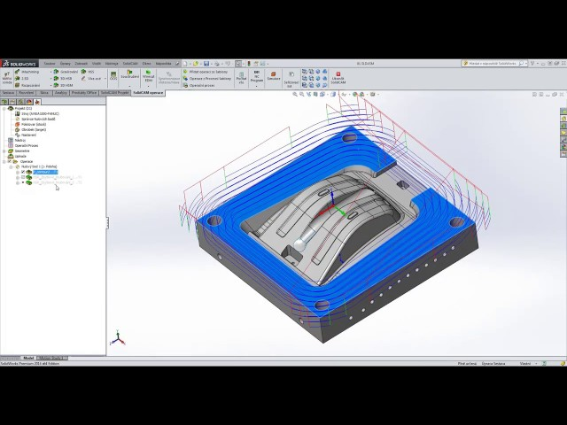 Tipy a triky ve 3D HSM/HSR SolidCAM