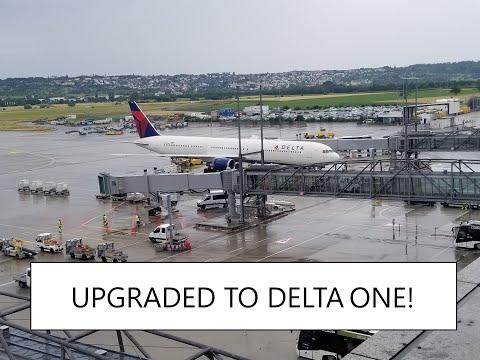DELTA ONE Atlanta to Stuttgart! - Boeing 767-400