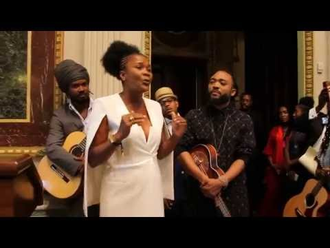 LADY SAW from Jamaica & Caribbean-American Performing Artists Singing @ White House