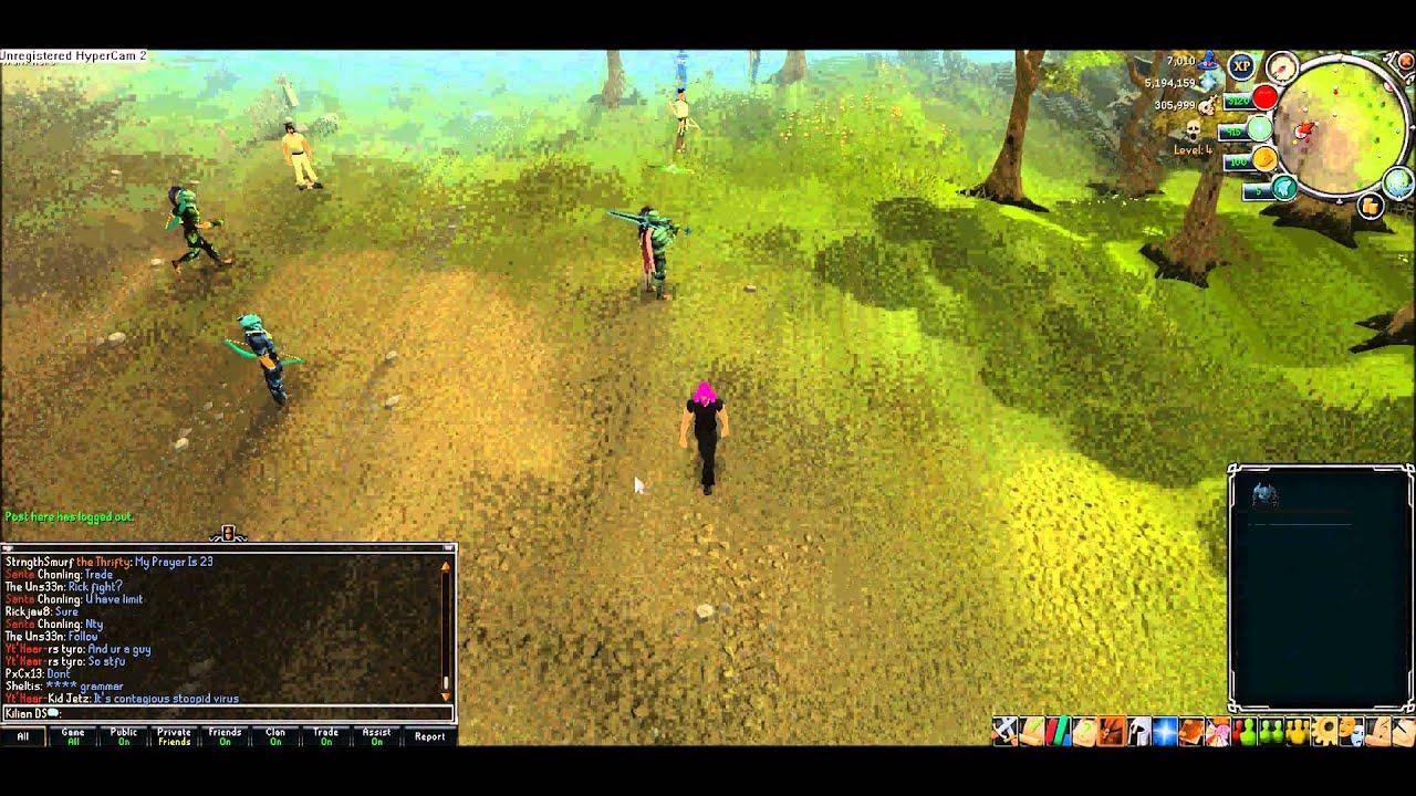 RuneScape: F2P Wilderness trolling