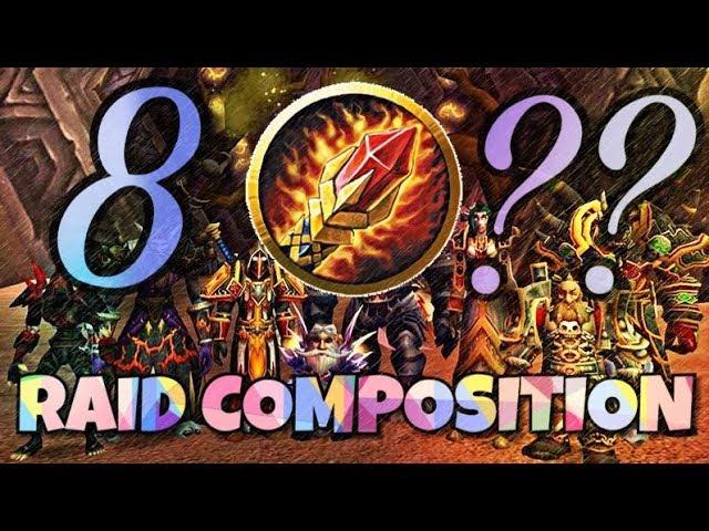 The PERFECT Classic Raid Group - Classic WoW Raiding Guide: 40-man Vanilla  WoW Raid Composition
