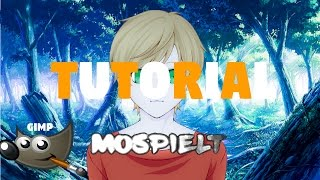 Anime Profilbild Selber Erstellen! | Gimp 2 (Oder PS) | Tutorial | MoSpielt