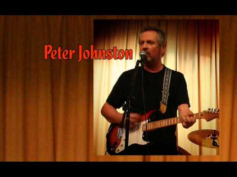 Peter Johnston playing Peggy Sue