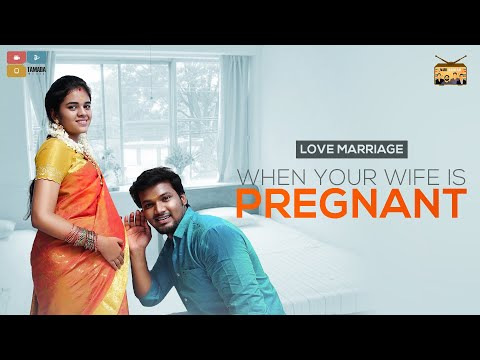 When Your Wife Is Pregnant || Narikootam || Tamada Media