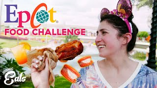Ultimate Epcot Food Challenge: Trying All Of The Iconic Eats