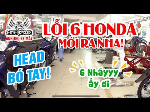 Lỗi Số 6 Honda Fi Và Head Honda Bó Tay Cái Kết Đau Lòng