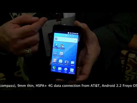 Samsung Infuse 4G Hands On