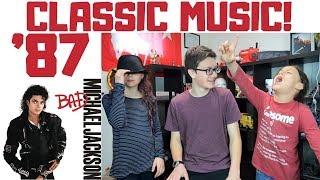 Kids REACT to Michael Jackson - Smooth Criminal