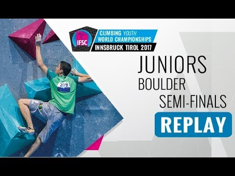 IFSC Youth World Championships Innsbruck 2017 - Bouldering -