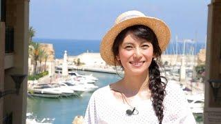 マルタ島に英語留学をしていた経験がある柴咲さん もっと英語で会話して...