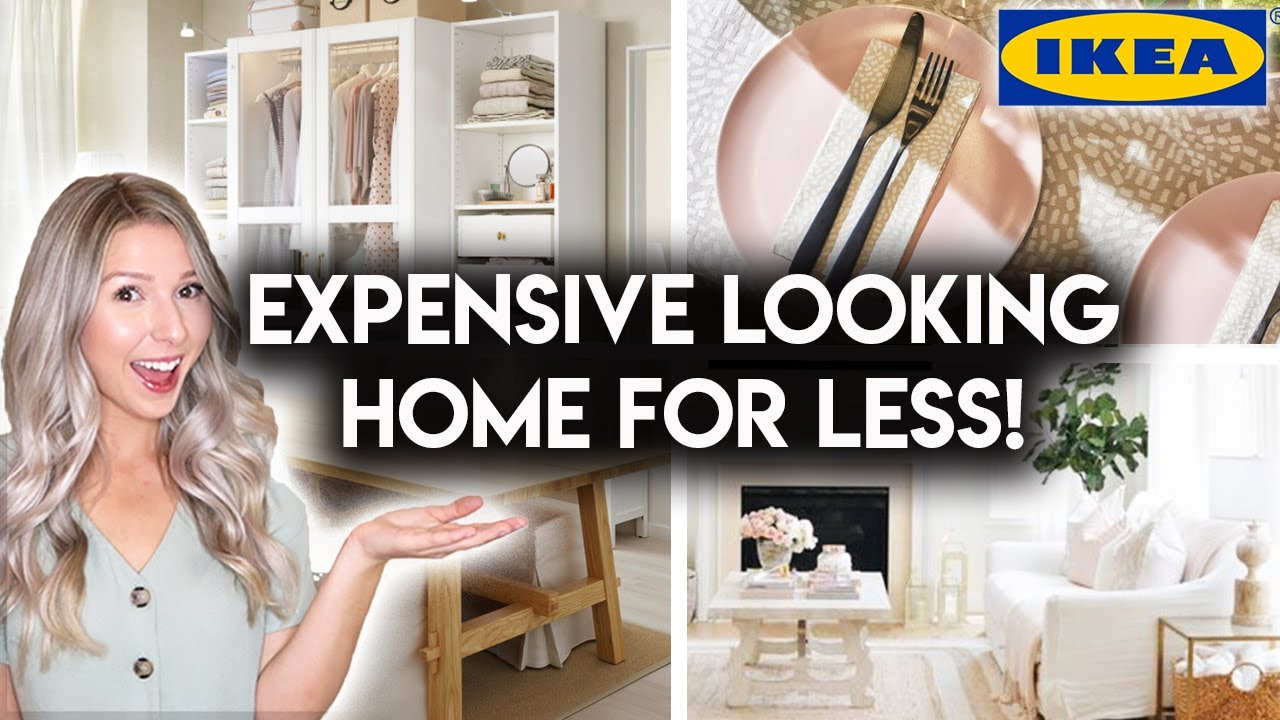 10 AFFORDABLE IKEA PRODUCTS TO MAKE YOUR HOME LOOK MORE EXPENSIVE