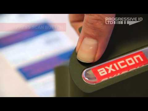 Axicon 6525-S: How To Verify Barcodes