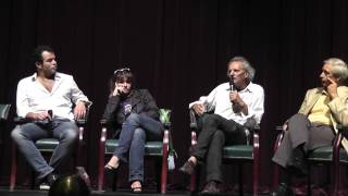 Discussion with Italian filmmakers