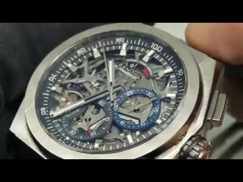 【1/100秒極速領域】真力時 DEFY系列 El Primero 21 計時碼錶