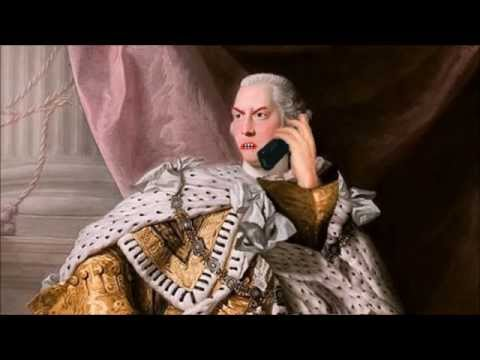 America Breaks Up with King George by Voicemail (Declaration of Independence)