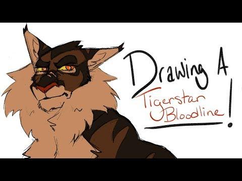"""Drawing a ____!""  Tigerstar Bloodline"