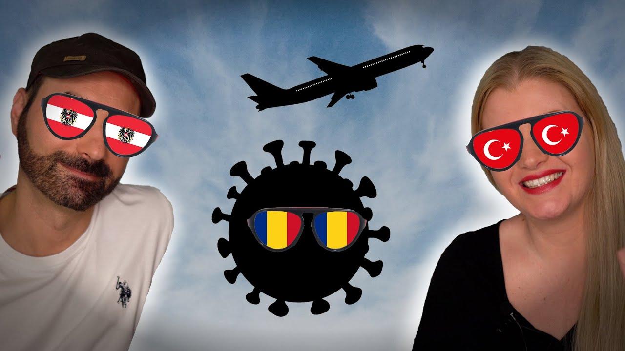 Blocați în aeroport! (Calatorie de pandemie ?)