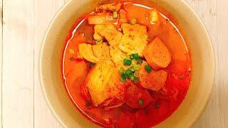 김치찌개, kimchi stew, kimchi-jjigae [COOKHAJA]