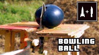 Rocket Knife Vs Bowling Ball Which One Will Break