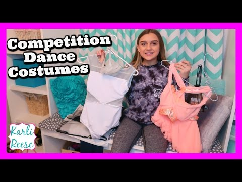 COMPETITION DANCE COSTUMES HAUL